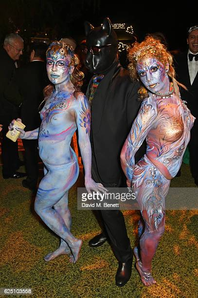 Nicky Haslam attends The Animal Ball 2016 presented by Elephant Family at Victoria House on November 22 2016 in London England