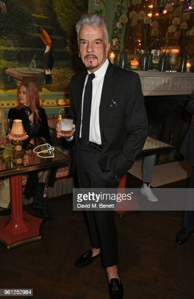 Nicky Haslam attends the Annabel's x Dior dinner on May 21 2018 in London England