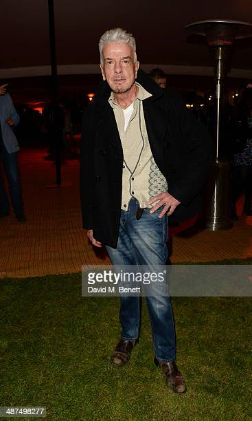 Nicky Haslam attends the Battersea Power Station Annual Party on April 30 2014 in London England