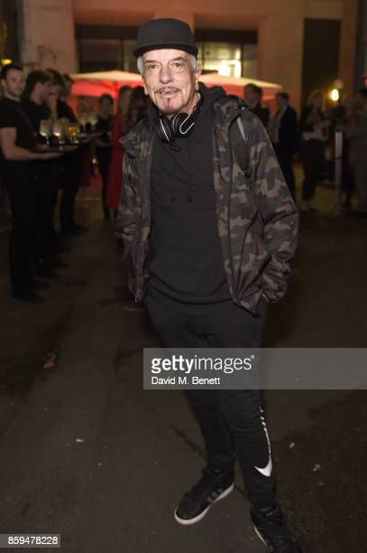 Nicky Haslam attends the Conde Nast Traveller 20th anniversary party at Vogue House on October 9 2017 in London England