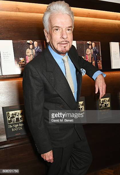 Nicky Haslam attends the launch of 'The Night Before BAFTA' by Charles Finch at Maison Assouline on February 3 2016 in London England