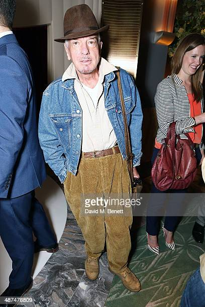 Nicky Haslam attends the launch of Town Country magazine at Fera at Claridge's Hotel on April 30 2014 in London England
