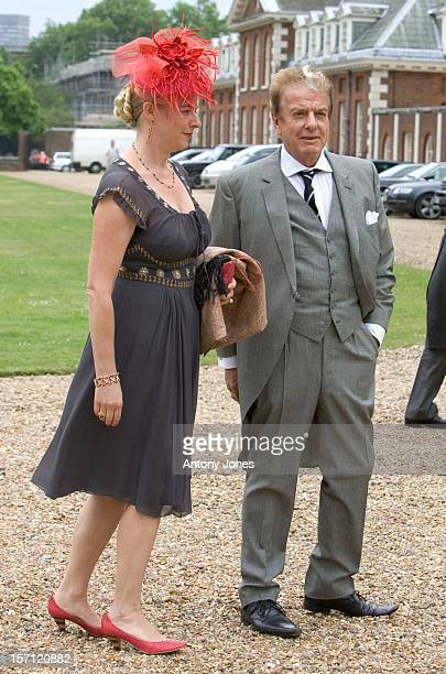 Nicky Haslam Attends The Wedding Of Tom Aikens Amber Nuttall At The Royal Hospital Chelsea In London