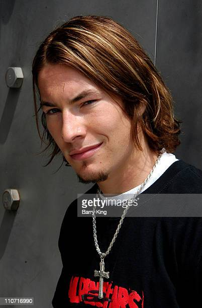 Nicky Hayden MotoGP Rookie of the Year 2003 during Behind The Scenes Oakley Eyewear Shoot with Nicky Hayden at Oakley Interplanetary Headquarters in...