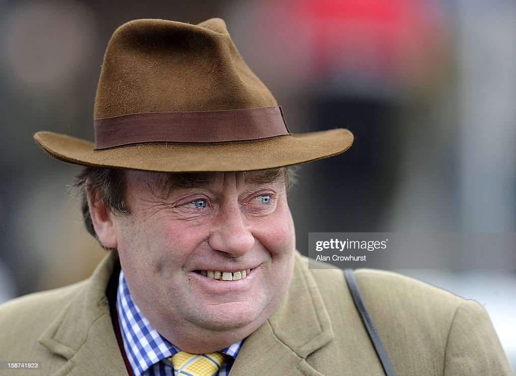 Nicky Henderson poses at Kempton racecourse on December 27, 2012 in Sunbury, England.