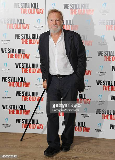 Nicky Henson attends a photocall for We Still Kill The Old Way at Ham Yard Hotel on September 29 2014 in London England