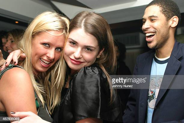 Nicky Hilton Aimee Osbourne and Rashad Haughton during Honey New York Premiere After Party Hosted by Andre Harrell at Play in New York City New York...
