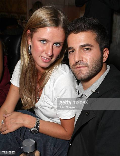 Hollywood October 09 Nicky Hilton And David Katzenberg Attend The Grand Opening Of Sbes Katsuya Hollywood