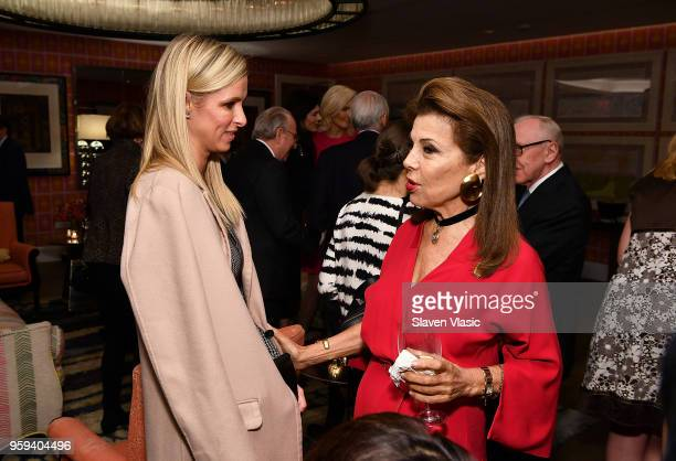 Nicky Hilton and executive producer HRH Princess Firyal of Jordan attend 'This is Home A Refugee Story' New York Premier Screening at Crosby Street...