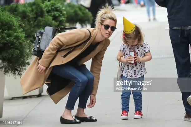 Nicky Hilton and her daughter, Lily-Grace are seen on May 29, 2019 in New York City.