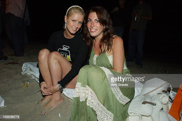 Nicky Hilton and Jessica Meisels during Crest Vivid White Nights Presents Fall for White Party Inside at Private Residence in Malibu California...