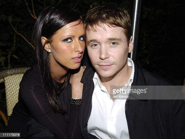 Nicky Hilton and Kevin Connolly during 2005 HBO PreGolden Globe Awards Party in Los Angeles California United States