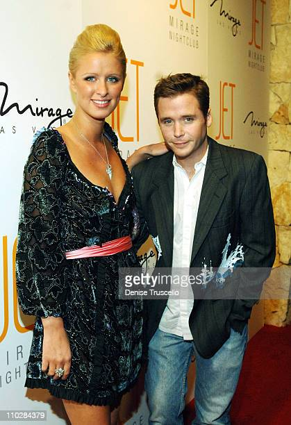 Nicky Hilton and Kevin Connolly during Jet Nightclub at The Mirage Grand Opening Celebration - Red Carpet Arrivals at Jet Nightclub at The Mirage in...