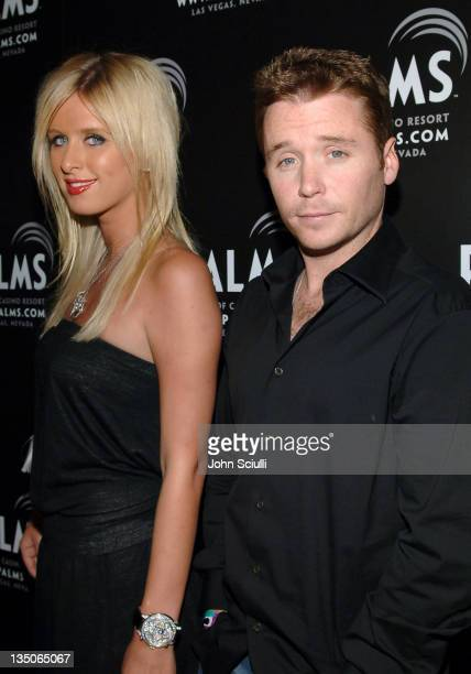 Nicky Hilton and Kevin Connolly during Palms Casino Resort 1st Annual Fantasy Suite Block Party at Palms Hotel in Las Vegas Nevada United States