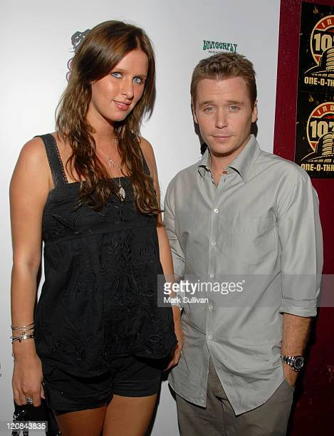 Nicky Hilton and Kevin Connolly during Suicide Girls 5 Year Anniversary Concert at Dragon Fly in Hollywood California United States