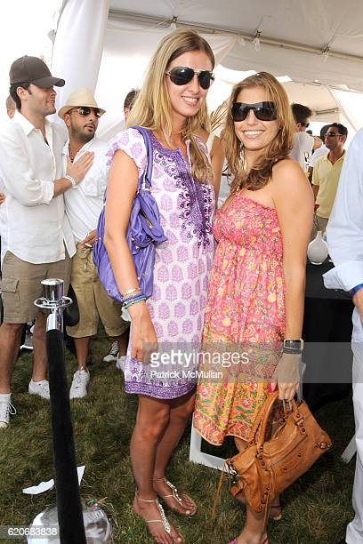 Nicky Hilton and Laura Katzenberg attend TMOBILE SIDEKICK Lounge at the MERCEDESBENZ Bridgehampton Polo Challenge Hosted by CHACE CRAWFORD at Two...