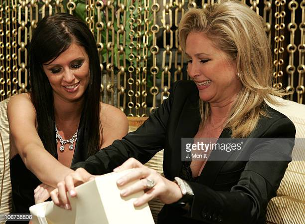 Nicky Hilton and Mother Kathy Hilton during Nicky Hilton Celebrates her 21st Birthday at Hard Rock Cafe Hotel and Casino October 16 2004 at Hard Rock...