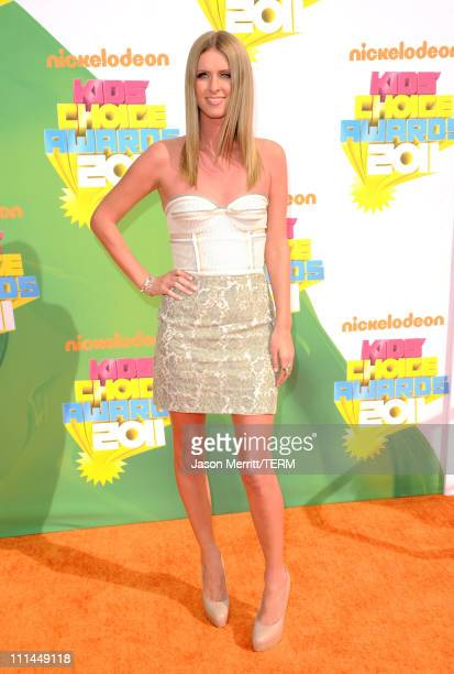 Nicky Hilton arrives at Nickelodeon's 24th Annual Kids' Choice Awards at Galen Center on April 2, 2011 in Los Angeles, California.