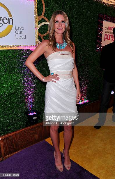 Nicky Hilton arrives at premiere of Oxygen's New DocuSeries The World According To Paris at Tropicana Bar at The Hollywood Roosevelt on May 17 2011...
