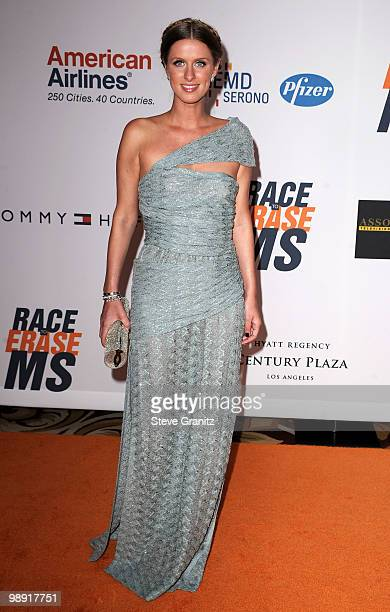 Nicky Hilton arrives at the 17th Annual Race to Erase MS event cochaired by Nancy Davis and Tommy Hilfiger at the Hyatt Regency Century Plaza on May...