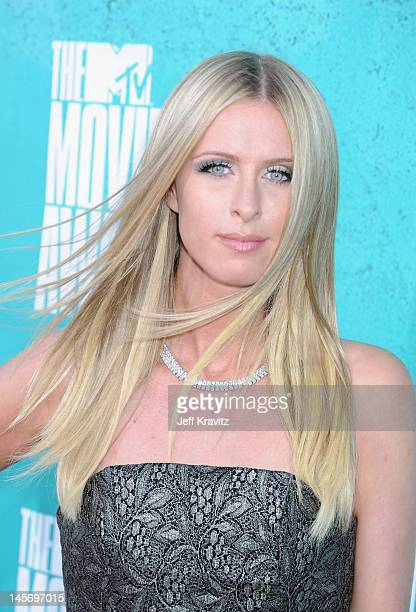 Nicky Hilton arrives at the 2012 MTV Movie Awards held at Gibson Amphitheatre on June 3, 2012 in Universal City, California.
