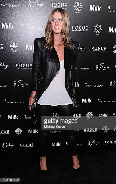 Nicky Hilton arrives at The Art of Elysium's 2nd Annual Genesis Awards at Milk Studios on August 28, 2010 in Hollywood, California.