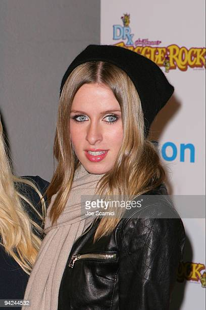 Nicky Hilton arrives at the Jim Henson Company's Fraggle Rock Holiday Toy Drive Benefit at Kitson on Roberston on December 9 2009 in Beverly Hills...