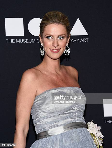 Nicky Hilton arrives at the MOCA Gala 2016 at The Geffen Contemporary at MOCA on May 14 2016 in Los Angeles California