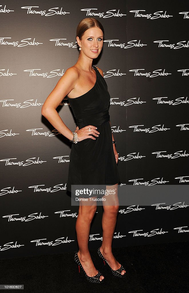 Nicky Hilton arrives at the opening of the Thomas Sabo store at the Grand Canal Shoppes at Venetian Hotel and Casino Resort on June 4, 2010 in Las Vegas, Nevada.