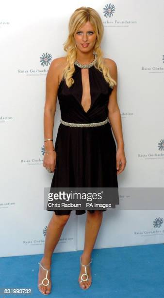 Nicky Hilton arrives at the Raisa Gorbachev Foundation Russian Ball at Althorp House Northamptonshire PRESS ASSOCIATION Photo Picture date Saturday...