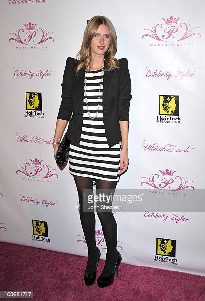 Nicky Hilton arrives to the Launch Party For The Paris Hilton Hair And Beauty Line at Thompson Hotel on November 17 2009 in Beverly Hills California