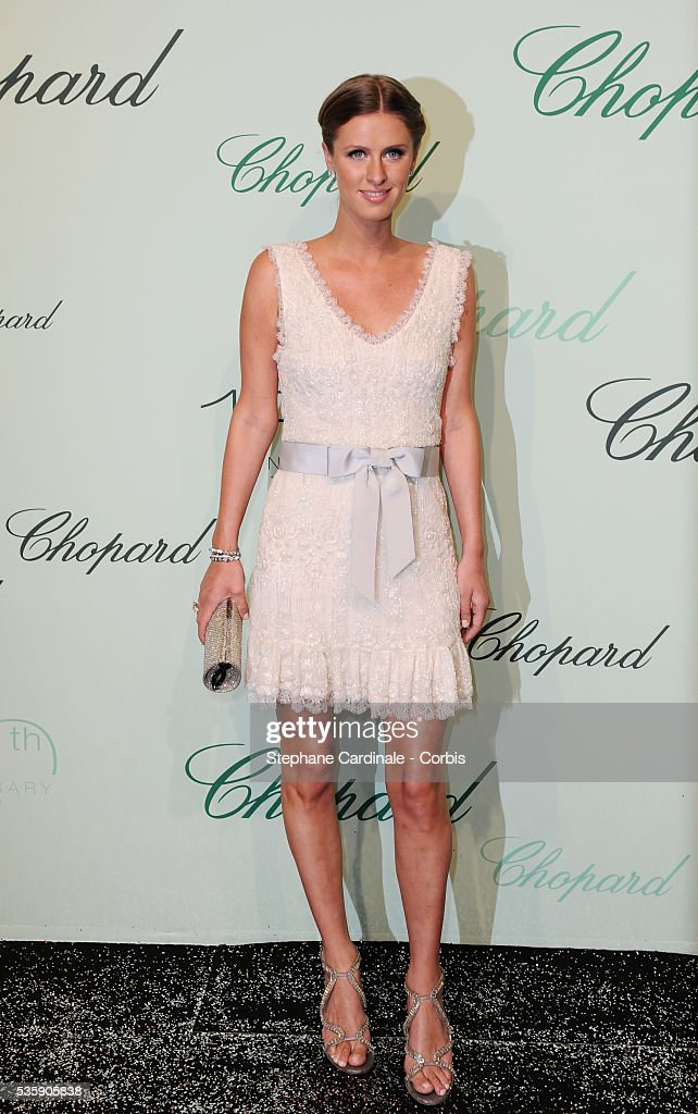 Nicky Hilton at the 'Chopard 150th Anniversary Party' during the 63rd Cannes International Film Festival.
