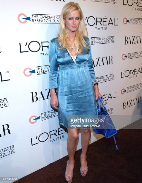Nicky Hilton at the L'Oreal Paris Presents 'As Seen inHarper's Bazaar' to Benefit the Ovarian Cancer Research Fund Red Carpet at Lindbrook Gallery in...