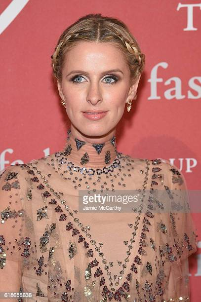 Nicky Hilton attends 2016 Fashion Group International Night Of Stars Gala at Cipriani Wall Street on October 27 2016 in New York City