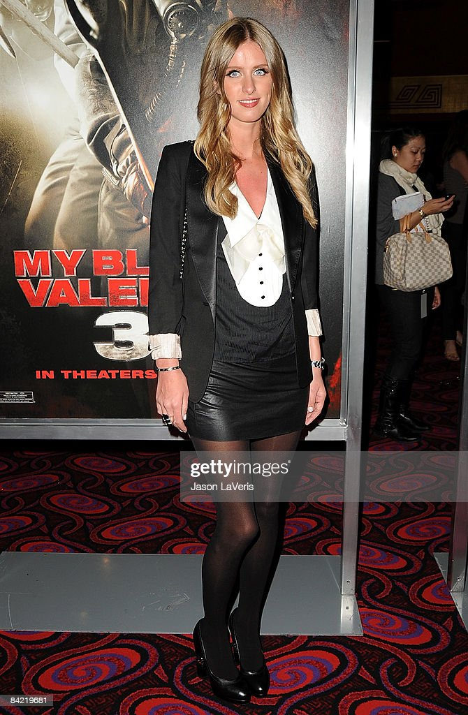 Nicky Hilton Attends A Screening Of U0027My Bloody Valentine 3Du0027 At Mannu0027s  Chinese 6