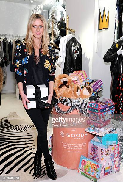 Nicky Hilton attends alice olivia by Stacey Bendet x GOOD Foundation Toy Drive KickOff on November 30 2016 in New York City