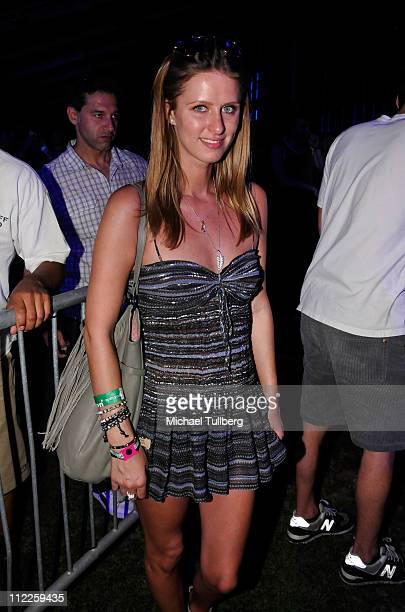Nicky Hilton attends Day 1 of the Coachella Valley Music Arts Festival 2011 held at the Empire Polo Club on April 15 2011 in Indio California