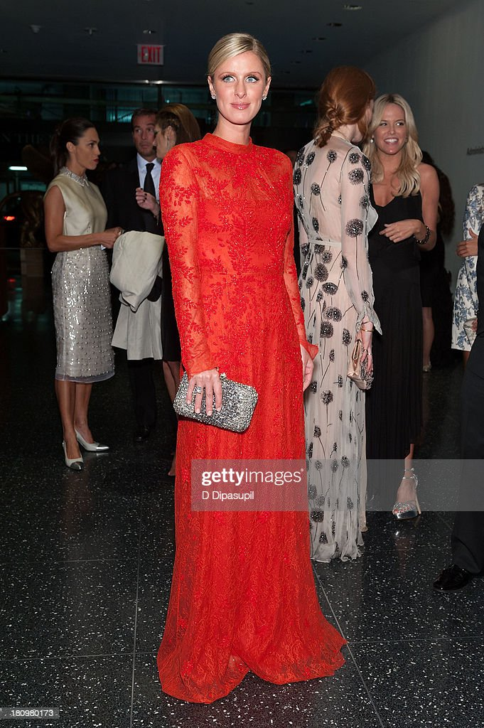 Nicky Hilton attends the 11th Brazil Foundation NYC gala at The Museum of Modern Art on September 18, 2013 in New York City.
