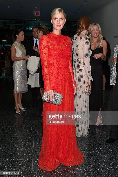 Nicky Hilton attends the 11th Brazil Foundation NYC gala at The Museum of Modern Art on September 18 2013 in New York City