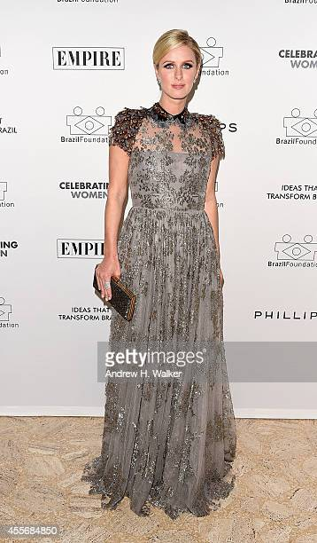 Nicky Hilton attends the 2014 BrazilFoundation Gala at Lincoln Center on September 18 2014 in New York City