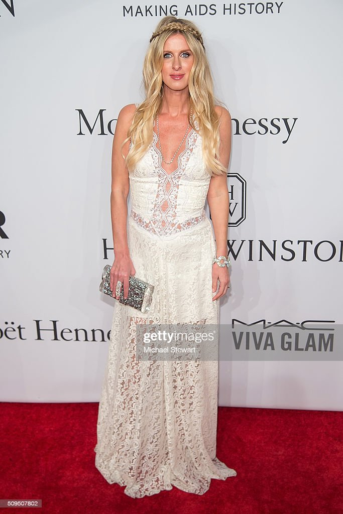 Nicky Hilton attends the 2016 amfAR New York Gala at Cipriani Wall Street on February 10, 2016 in New York City.