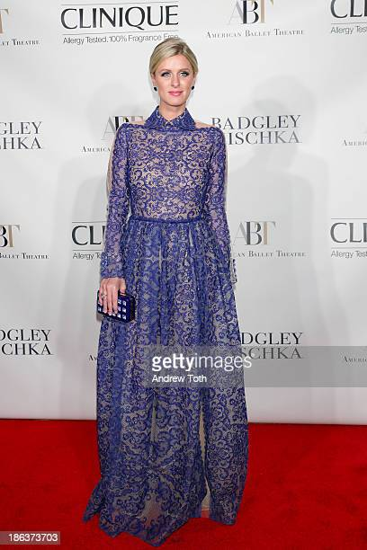 Nicky Hilton attends the American Ballet Theatre 2013 Opening Night Fall gala at David Koch Theatre at Lincoln Center on October 30 2013 in New York...