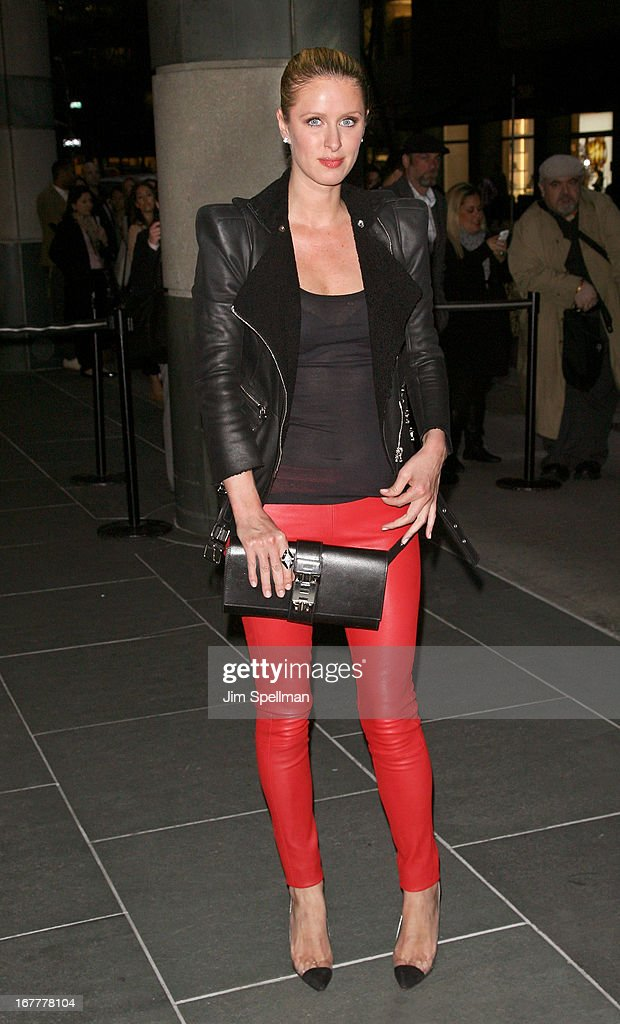 Nicky Hilton attends the Cinema Society with Swarovski & Grey Goose premiere of eOne Entertainment's 'Scatter My Ashes At Bergdorf's' at Florence Gould Hall on April 29, 2013 in New York City.