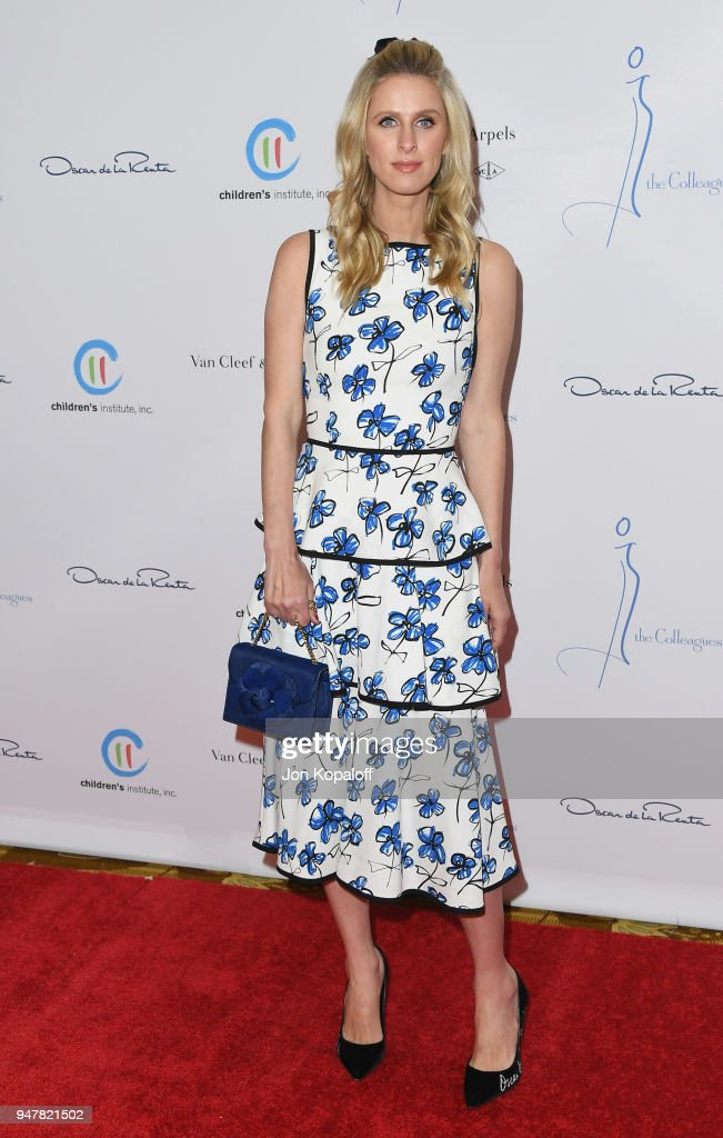 Nicky Hilton attends The Colleagues And Oscar de la Renta's Annual Spring Luncheon at the Beverly Wilshire Four Seasons Hotel on April 17, 2018 in Beverly Hills, California.