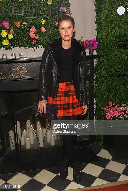 Nicky Hilton attends the Council Of Fashion Designers Of America's 4th annual design series for Vogue eyewear event presented by LensCrafters and The...