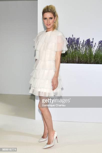 Nicky Hilton attends the Giambattista Valli Haute Couture Fall Winter 2018/2019 show as part of Paris Fashion Week on July 2 2018 in Paris France