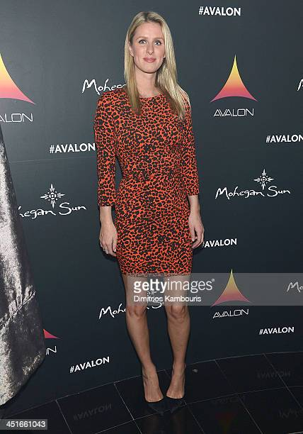 Nicky Hilton attends the Grand Opening of Avalon Mohegan Sun on November 23 2013 in Uncasville City