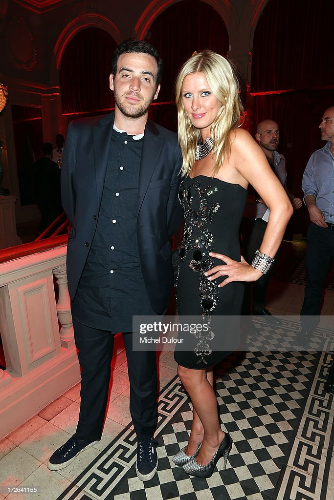 Nicky Hilton (R) attends the 'Lancome Show by Alber Elbaz' at Le Trianon on July 2, 2013 in Paris, France.