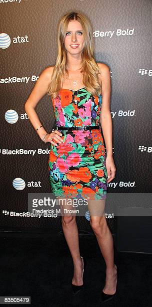 Nicky Hilton attends the Launch Party for the New Blackberry Bold telephone on October 30 2008 in Beverly Hills California