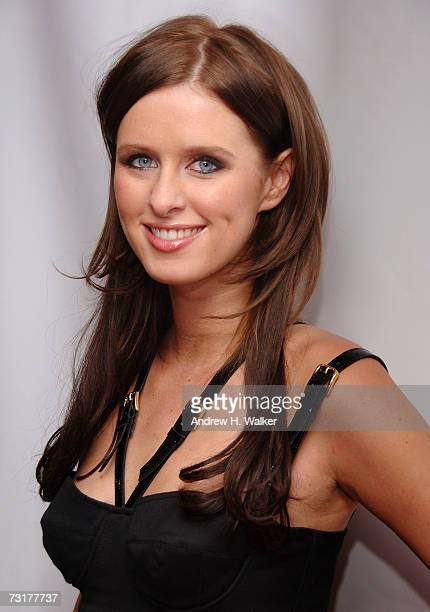 Nicky Hilton attends the Macy's Kiss Tell to benefit The American Heart Association's Go Red for Women movement on February 1 2007 in New York City